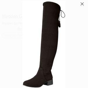 Madden girl over knee riding boot 10